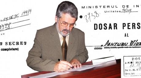 """Mircea Moloț: """"Voi semna materialul informativ cu numele conspirativ de Panțuru Viorel"""""""