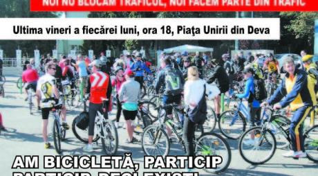 Bicicliști din tot județul, uniți-vă!