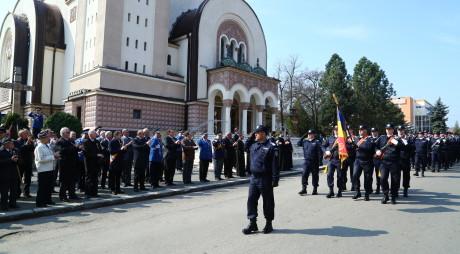 Veteranii Jandarmeriei hunedorene, sărbătoriţi la Orăştie