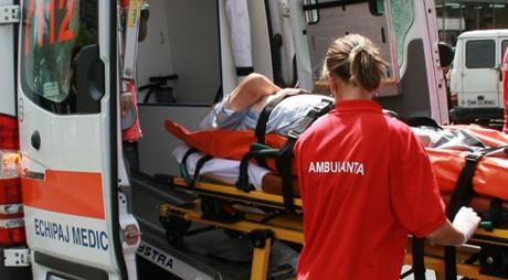 Tragedie la Hunedoara. Striviți de 3 tone de profile metalice, un bărbat a murit, iar altul se află în stare critică