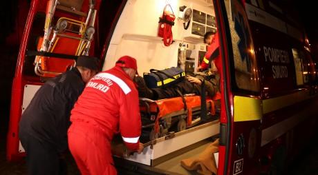 Pompierii și paramedicii hunedoreni, cei mai operativi!