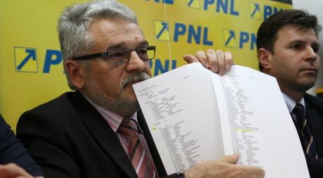 PNL îi reproșează lui Nistor că nu a votat pentru gratuitatea întabulării terenurilor agricole și forestiere
