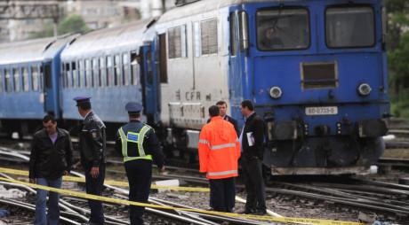 S-a aruncat în faţa trenului! Un bărbat a murit în a treia zi de Paşte