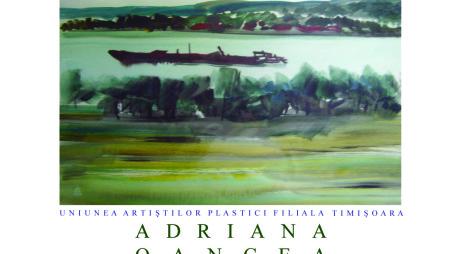 Artista Adriana Oancea expune la Galeria de Arte din Hunedoara