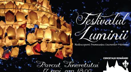 Festivalul Luminii are loc sâmbătă, 17 mai, la Hunedoara