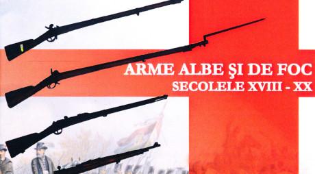 """""""Arme albe și de foc"""" la muzeul din Deva"""