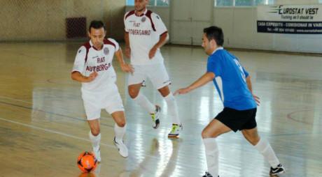 Informatica Timișoara și Autobergamo Deva, derby-ul campionatului de futsal