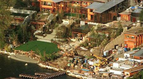 Casa de milioane de dolari a lui Bill Gates (GALERIE FOTO)