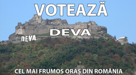 SONDAJ. Care este cel mai frumos oraş din România? DEVA printre finaliste