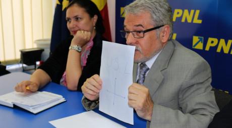Ce le-a desenat MOLOȚ PSD-iștilor ca să priceapă că USL nu mai trăiește