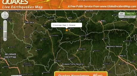 A fost cutremur în județul Hunedoara! L-ați simțit?
