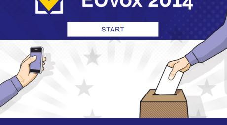 Euvox 2014, aplicaţia UE care îţi spune ce partid îţi reprezintă cel mai bine interesele