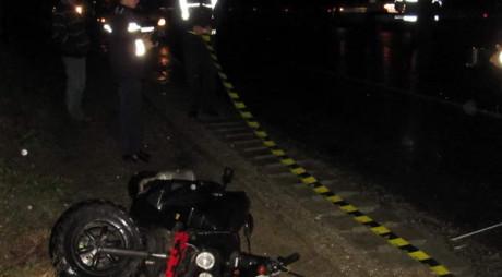 Un mopedist din Orăştie a ajuns la spital în urma unui accident rutier