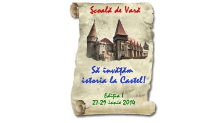 ȘCOALA DE VARĂ. Să învățăm istoria la Castel!