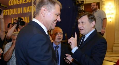 Crin și Klaus, în cursa pentru candidatura la prezindențiale din partea PNL