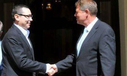 SONDAJ – Scor strâns între Ponta și Iohannis