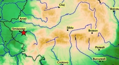 CUTREMUR la adâncime de doar 1 km în Banat