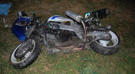 ACCIDENT DE MOTOCICLETĂ LÂNGĂ HAȚEG