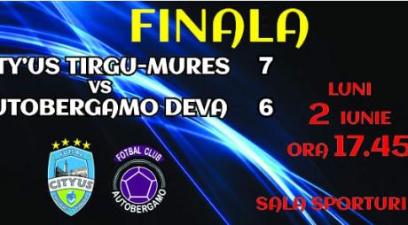 Autobergamo a pierdut primul meci din finala campionatului de futsal