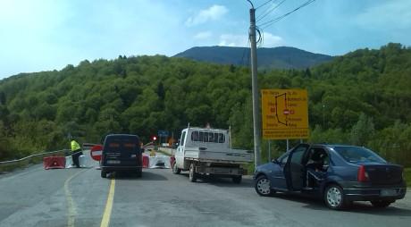 Traficul rutier pe Defileul Jiului – ÎNCHIS