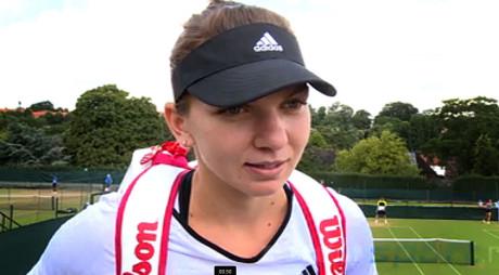 WIMBLEDON | Simona Halep – Zarina Diyas 6-3, 6-0 după un meci care a durat doar 57 de minute
