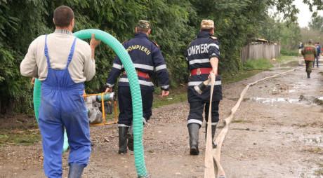 Hunedoara   BILANȚUL inundațiilor din weekend