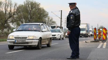 Poliţiştii hunedoreni la datorie, de Revelion