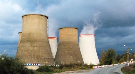 Energeticienii au protestat în faţa Termocentralei Paroşeni