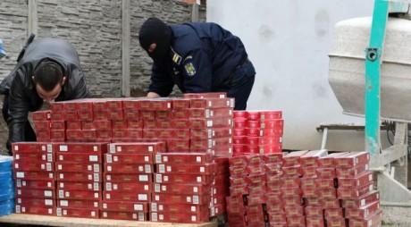 Grupare de contrabandiști de țigări, anihilată de Poliția de Frontieră. Cum acționa rețeaua la granița cu Serbia