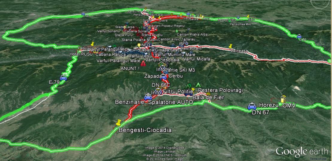 Prima Hartă 3d Cu Transalpina Turistii Pot Parcurge Virtual