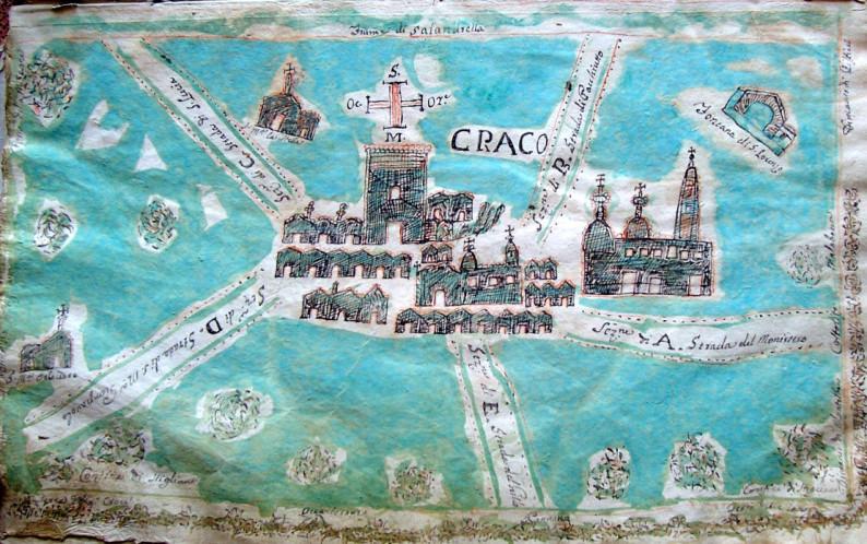 Map Craco 1807