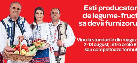 Producătorii români de legume-fructe sunt invitați să devină furnizori Carrefour România