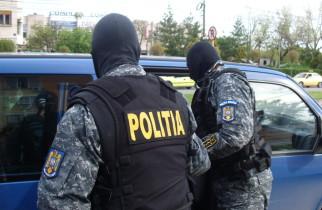Scandal cu focuri de armă în vestul țării