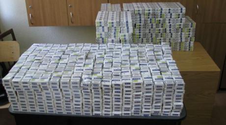 Deva. Prinşi cu zeci de mii de ţigări de contrabandă