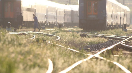 Trei asiatici au încercat să treacă frontiera cu trenul. Unde s-au ascuns de polițiști