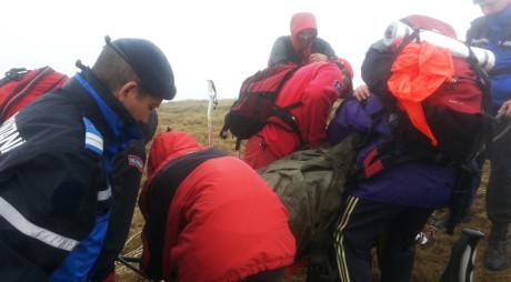 S-a ACCIDENTAT GRAV în munţii RETEZAT