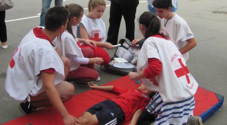 Tabără de pregătire în domeniul situaţiilor de urgenţă, la Simeria