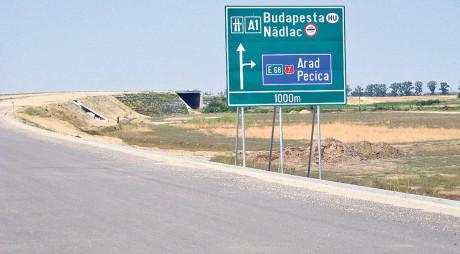 VIDEO | Autostrada Nădlac-Arad FILMATĂ din elicopter!
