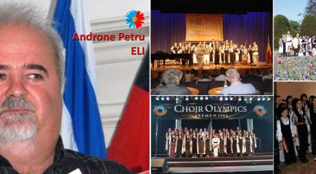 Premiantul de sâmbătă: Androne Petru Eli, profesorul minune al muzicii corale