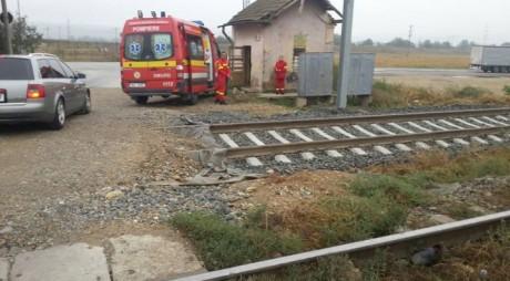 ACCIDENT MORTAL: S-a aruncat sub tren!