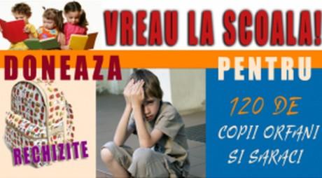 Campanie   Ajută copiii hunedoreni să meargă la ȘCOALĂ