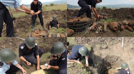 DEVA   Zeci de proiectile și grenade distruse de pirotehniști