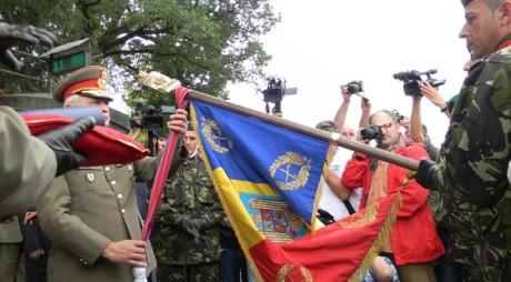 Țebea : Ordinul Virtutea Militară pentru Batalionul Vânătorilor de Munte
