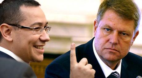 "Ponta – 40%, Iohannis – 30% – sondaj înainte de ""scandalul SIE"""
