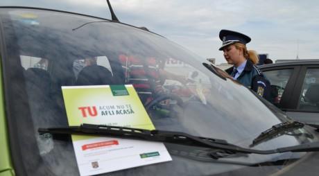 Hunedorenii, instruiți cum să-i țină pe hoții din mașini la distanță