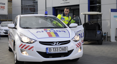 2.800 DE MAȘINI NOI PENTRU POLIȚIȘTI