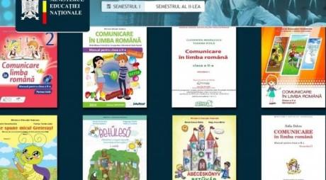 Manuale digitale pentru clasele I şi a II-a, disponibile online