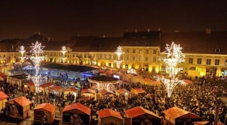 Programul TÂRGULUI DE CRĂCIUN din Sibiu. Concert INEDIT la deschidere