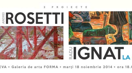 Expoziție Andrei Rosetti și Radu Ignat la Deva