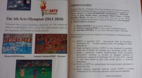 Două eleve talentate din judeţ vor reprezenta România la nivel înalt